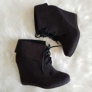 Mossimo Supply Co. Black Booties